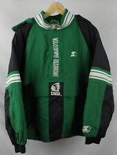 Vintage University of North Dakota Green Starter Jacket Embroidered Logo Sz L