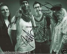 "Dirty Heads Reggae Ska Punk band Reprint Signed 8x10"" Photo RP ALL 4 Members"