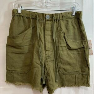 Free People Womens NWT Army Shorts