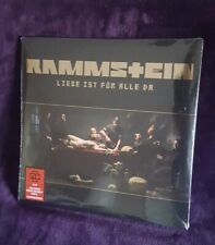 Rammstein- Liebe Ist Fur Alle Da Vinyl Record 180g  Double LP New Sealed