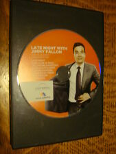Late Night Jimmy Fallon EMMY DVD 1episode Rosario Dawson New Kids on the Block