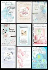 Congratulations BIRTH,  NEW BABY Card ~ With FABULOUS VERSES choice of designs