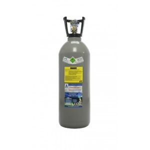 10 kg CO2 Flasche Getränke Kohlensäure E290, Thekenversion, VOLL, Tauschflasche