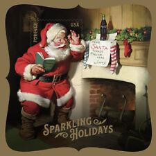 Sparkling Holidays Santa Souvenir Sheet Great Christmas Gift Stocking Stuffer