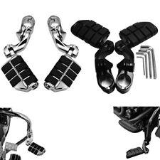 "1 1/4"" Crash Bar Highway Pegs Foot Pegs Footrests For Harley Yamaha Honda Indian"