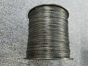 BLACK 22 AWG Gauge Stranded Hook Up Wire Kit 1000 ft Ea REEL UL1007 300 Volt