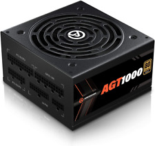 More details for aresgame 1000w power supply fully modular 80+ gold psu (agt1000)