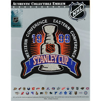 1999 NHL Stanley Cup Logo Jersey Patch Dallas Stars Vs Buffalo Sabres