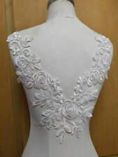 1pc Ivory Super Luxury Rose Lace Appliques Exquisite Wedding  Bridal Veil Bodice