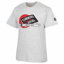 Cummins dodge diesel truck t tee shirt distressed short sleeve cummings LARGE