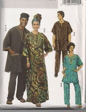 Butterick  Unisex Tunic,Caftan,Pants, Hat, Headwrap , Pattern 5725  (Sml-Lrg)