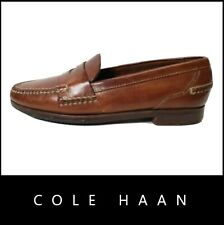 Cole Hann Men Leather Upper Brown Shoes Loafer Size 8.5 M