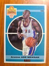 Carte basketball cards Panini 1994 Olympique Antibes SNB #3 Arsène Ade Mensah
