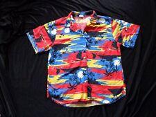 New listing Island Sunset Vintage 1980's Women's Wrangler Summer Buttondown Shirt L