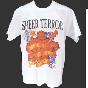 SHEER TERROR PUNK ROCK HARDCORE METAL T-SHIRT unisex S-3XL