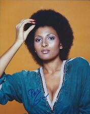 Pam Grier Jackie Brown autographed 8x10 photo with COA by CHA