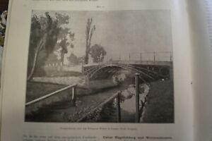 1900 Prometheus 575 Laasan Brücke Łażany Polen