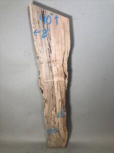 live edge spalted maple wood slab figured rustic natural edge