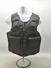 More details for cooneen body armour overt black ballistic stab vest security obsolete uniform