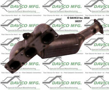 Catalytic Converter-Exact-Fit - Manifold Rear Davico Exc CA 18257