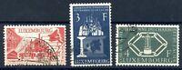 Luxemburg MiNr. 552-54 gestempelt CEPT-Vorläufer (R5179