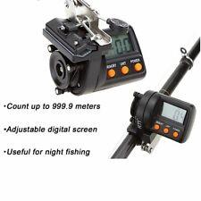 Fishing Line Counter Digital Display Electronic 9999m Depth Finder Feeder Tackle