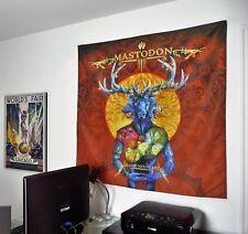 MASTODON Blood Mountain HUGE 4X4 BANNER fabric poster tapestry cd album