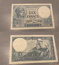 10 Francs Minerve Type 1915 - 15/2/1928 F.48760 TTB SUP