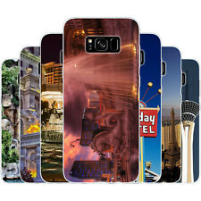 Dessana Las Vegas TPU Silicone Protective Cover Phone Case for Samsung Galaxy