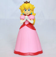 "Super Mario Brothers Bros 6"" Princess Peach Action Figure Cake Topper USA SELLER"