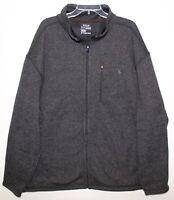 Polo Ralph Lauren Big Tall Mens 2XB Gray Black Fleece Performance Jacket NWT 2XB