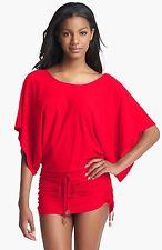 Luli Fama ~ Cosita Buena ~ South Beach Dress/coverup ~ M ~ Bombshell Red ~ SALE