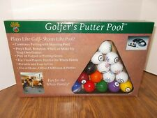 Golfer'S Putter Pool New In Box Club Champ Indoor Golf Pool Game Office Party