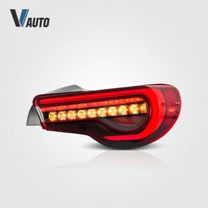 VLAND LED Red Tail Lights Fit For Toyota 86 & Subaru BRZ & Scion FR-S Set Lamps