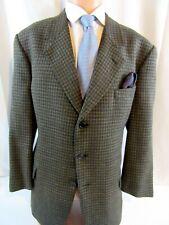 84e79a03a3ce9 Mens Valentino Saks Fifth Ave Blazer, Sport Coat tweed check, Italy, 46 R