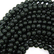 "Green Goldstone Round Beads Gemstone 15"" Strand 4mm 6mm 8mm 10mm 12mm"