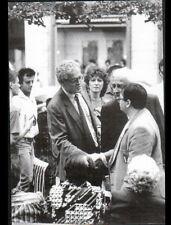 TOULOUSE (31) Lionel JOSPIN en CAMPAGNE POLITIQUE / Rencontres en 1986