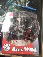 Crimson Skies ACES PACK #3 ACES WILD Wizkids Collectible Miniatures Game
