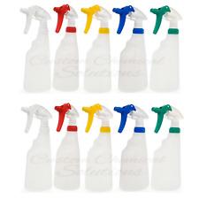 10 x Trigger Spray Bottles 650ml, Valeting, Detailing, chemical resistant heads