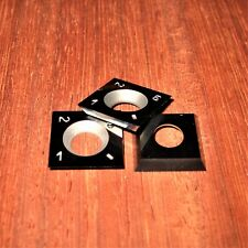 15mm square Carbide Cutter insert fits Ci1 Easy Wood Tools Rockler + 3 PACK