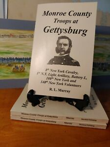 Monroe County at Gettysburg  8th NY Cavalry, 1st Art Battery L, 108th 140th NYSV