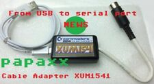 CAVO ADATTATORE USB XUM1541 - PC USB PER COMMODORE 64/128 C16/Plus4 Drive 1541