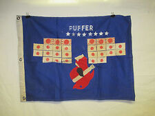 flag895 WW 2 US Navy USS Puffer Submarine flag SS 268 Sub W9F