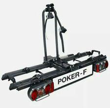 Eufab Fahrradträger für 2 Fahrräder Poker-F Kupplungsträger(12010LAS) Heckträger