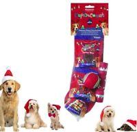 Christmas Xmas Festive Christmas Dog Dinner 3 Course Meal Dog Treat Stocking