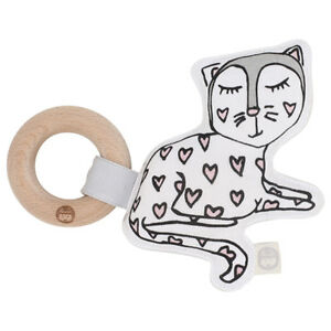 NEW Kippins Kitty Kiplet Rattle Teether Children Baby