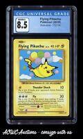 Pokemon - Evolutions - Flying Pikachu 110/108 (Secret Rare) - CGC NM/Mint+ 8.5