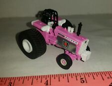 1/64 ERTL custom poor loser 2 pink agco oliver 1950t pulling tractor farm toy