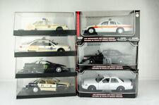 Rare Police Car Diecast/Model Lot of 7 Ford/Chevy - Interceptor Camaro