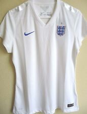 Women's Nike DRI-FIT England 2014 World Cup Home Soccer Jersey L NWT 588108